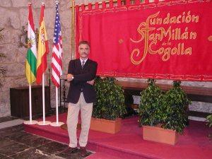 El director del Instituto Cervantes de Rabat, Alberto Gómez Font